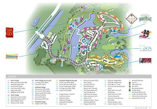 marriott grande vista orlando resort map Marriott S Grande Vista 98 4 2 3 Orlando Hotel Deals marriott grande vista orlando resort map