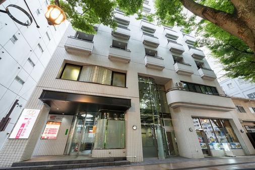 Alpha Hotel In Jyozenji - Sendai - Gebäude