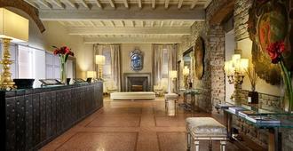 Brunelleschi Hotel - Florencia - Recepción