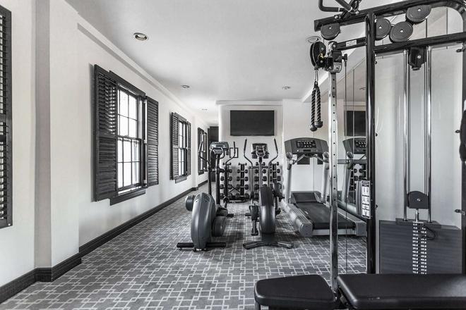 Montecito Inn - Santa Barbara - Gym