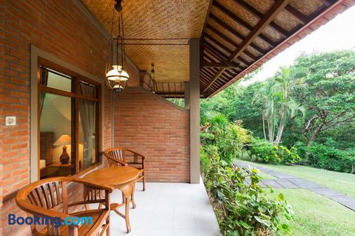 Wenara Bali Bungalow - Ubud - Patio