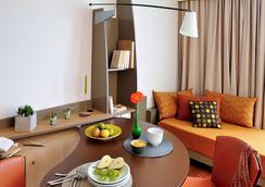 阿達吉奧南特中央城市公寓酒店 - 南特 - 南特 - 臥室