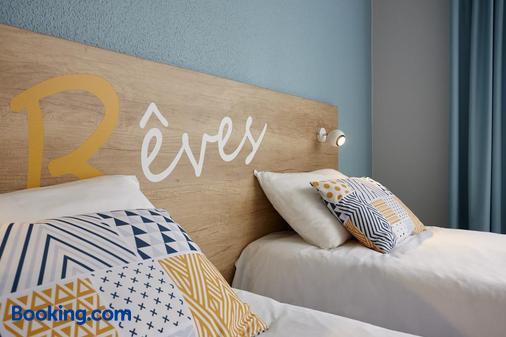 Hôtel Baudouin - Valenciennes - Bedroom