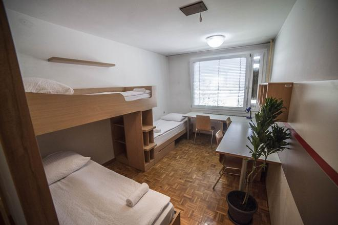 Hostel DIC - Ljubljana - Bedroom