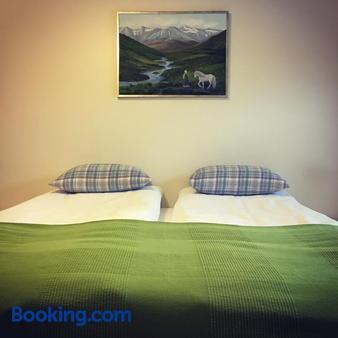Öndólfsstaðir Farm B&B - Laugar - Bedroom