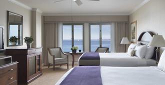 Monterey Plaza Hotel & Spa - מונטריי - חדר שינה