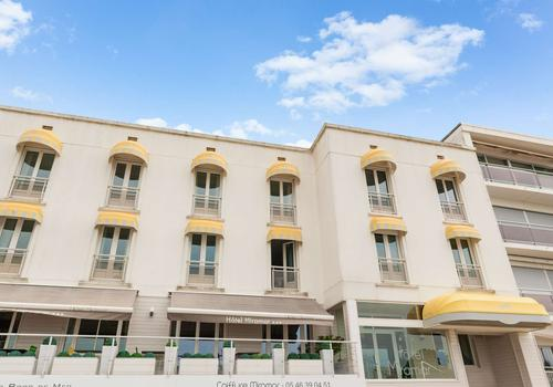 The Originals Boutique Hotel Miramar Royan Inter Hotel From