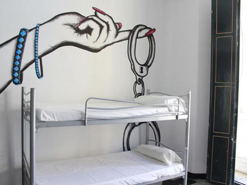 Hostel Málaga City - Malaga - Bad