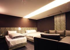 수원 캣츠 호텔 - 수원 - 침실