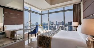 The Residences at The Ritz-Carlton Jakarta, Pacific Place - ג'קרטה - חדר שינה