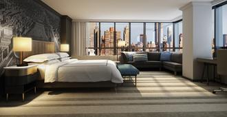 The Marquette Hotel, Curio Collection by Hilton - Minneapolis - Schlafzimmer
