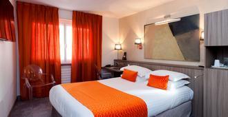 貝斯特韋斯特普拉斯莫諾波勒梅特洛波勒酒店 - 史特拉斯堡 - 斯特拉斯堡 - 臥室