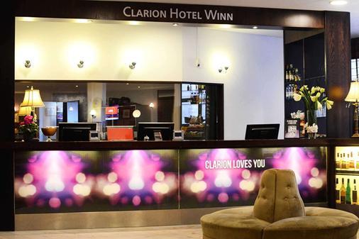 Clarion Hotel Winn - Gävle - Front desk