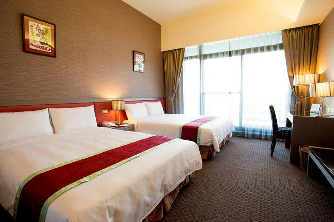 Formosan Naruwan Garden Hotel - Taitung City - Bedroom