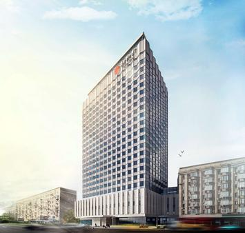 Azimut Hotel Smolenskaya Moscow - Moscow - Building