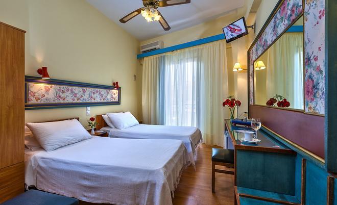 Lucia Hotel - Chania - Slaapkamer