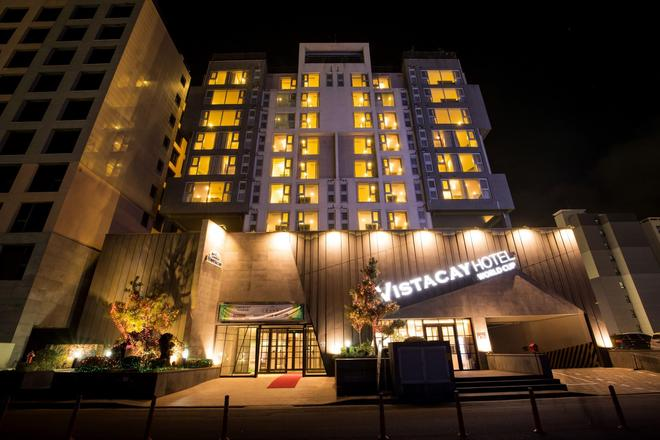 Vistacay Hotel Worldcup - Seogwipo - Building