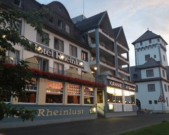 Hotel Rheinlust - Boppard - Gebouw