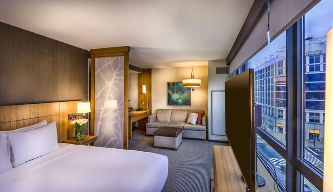 Hyatt Place Baltimore Inner Harbor - Baltimore - Phòng ngủ