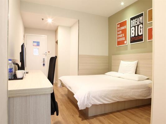 漢庭廣州東山口地鐵站酒店 - 廣州 - 臥室