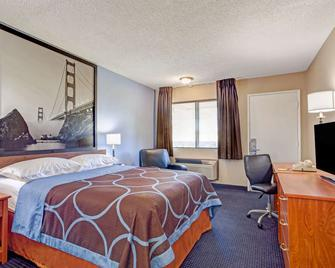 Super 8 by Wyndham Albany - Albany - Bedroom