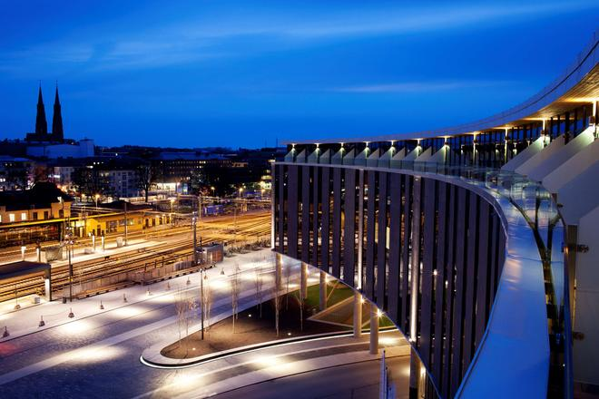 Radisson Blu Hotel Uppsala - Uppsala - Μπαλκόνι