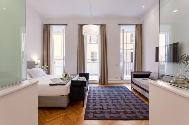 504 Corso Suites - Rome - Bedroom