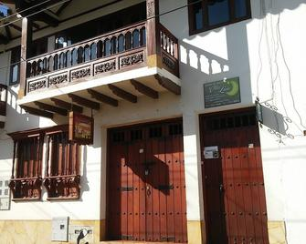 Aparta-Hotel Villa Luna - Villa de Leyva - Gebouw