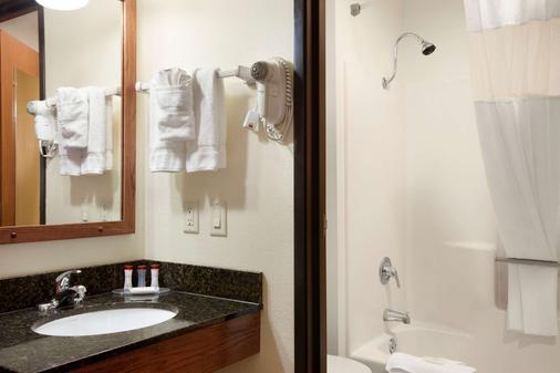 威斯康星戴爾華美達酒店 - 威斯康辛德爾斯 - 威斯康星戴爾 - 浴室