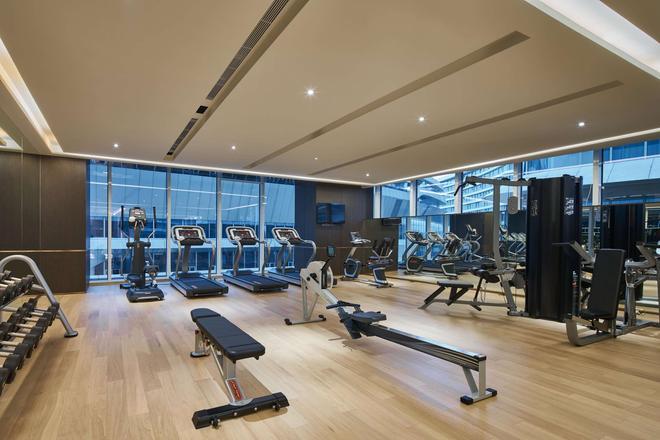 上海虹橋綠地鉑瑞公寓 - 上海 - 健身房