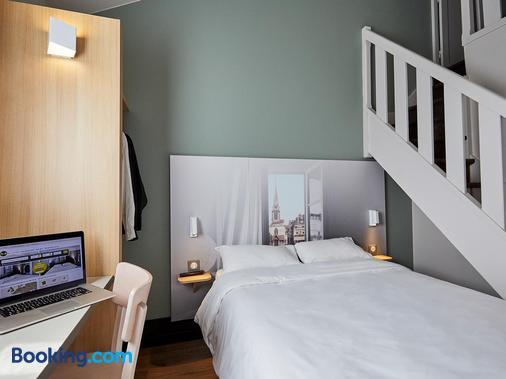 B&b Hotel Honfleur - Honfleur - Κρεβατοκάμαρα