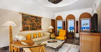 The Oberoi Beach Resort, Sahl Hasheesh - ฮูร์กาดา - ห้องนั่งเล่น
