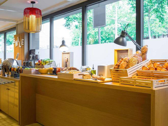 宜必思日內瓦珀蒂朗西酒店 - 朗西 - 日內瓦 - 自助餐