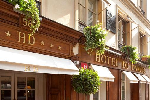 Hotel du Danube Saint Germain - Παρίσι - Κτίριο