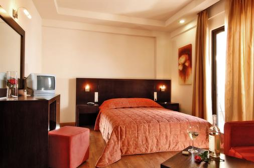 Eva Mare Hotel & Suites - Adults Only - Agia Pelagia - Phòng ngủ