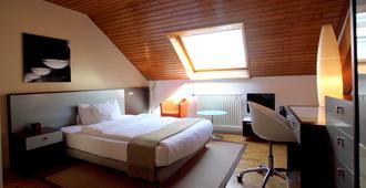 Design Hotel F6 - ג'נבה - חדר שינה
