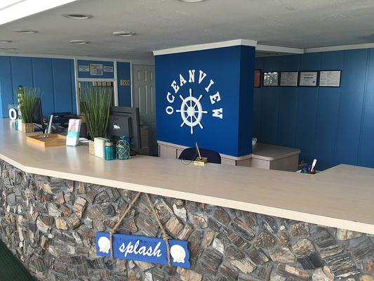 Oceanview Motel - Wildwood Crest - Front desk