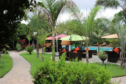 Palmwood Lodge - Lusaka - Phòng khách