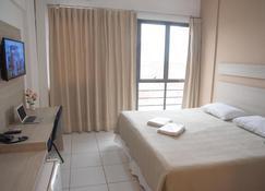 جيتوليو هوتل - كويابا - غرفة نوم