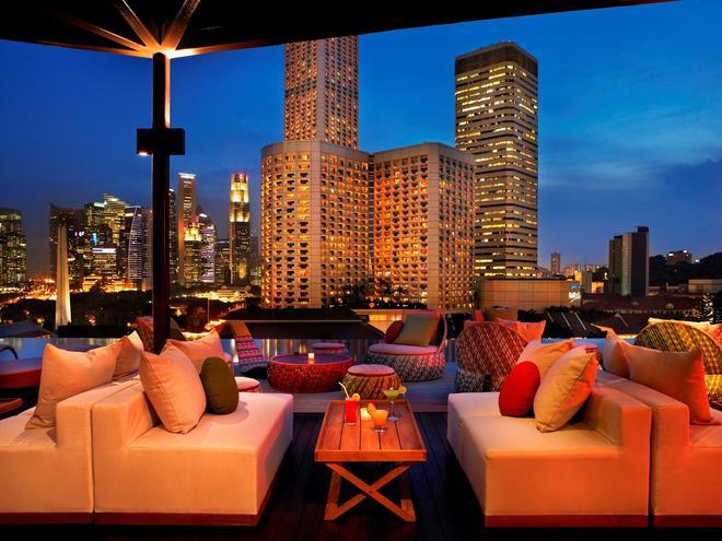 Naumi Hotel - Singapore - Parveke