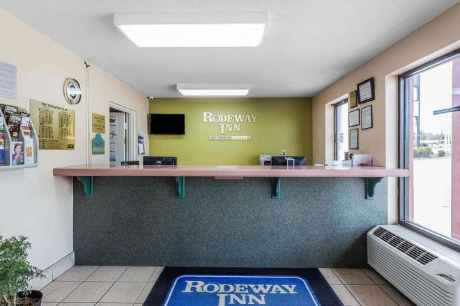 Rodeway Inn - Augusta - Front desk