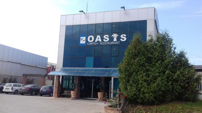 Oasis - Belgrad - Rakennus