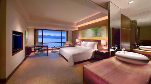 京那巴魯凱悅酒店 - 亞庇 - 臥室