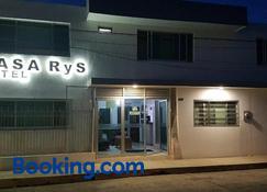 Casa Rys Hotel - Ocotlán - Edificio