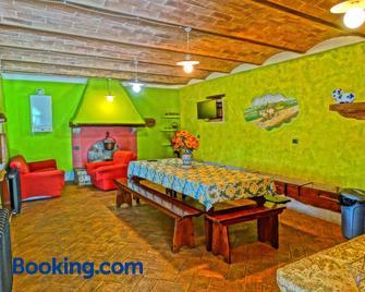 Agriturismo La Poderina - Bagno Vignoni - Living room