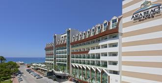 Asia Beach Resort & Spa Hotel - Alanya - Rakennus