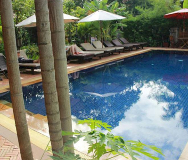 Jasmine Family Hostel - Siem Reap - Πισίνα