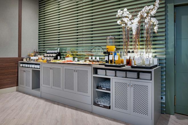 NH 里昂市長廣場酒店 - 里昂 - 萊昂 - 自助餐