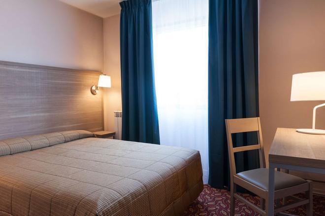 The Originals City, Hôtel Otelinn, Caen (Inter-Hotel) - Caen - Bedroom