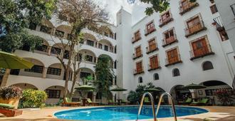 梅森侯爵酒店 - 瓦拉多利 - 巴利亞多利德(墨西哥) - 游泳池